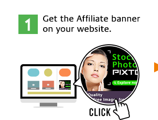 Get the Affiliate banner on your website